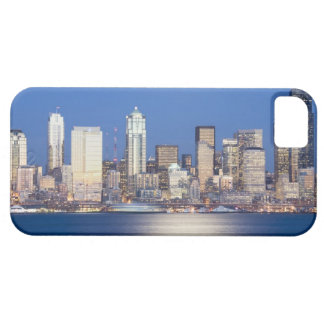 WA, Seattle, Seattle skyline and Elliott Bay, 2 iPhone 5 Covers