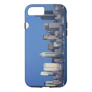 WA, Seattle, Seattle skyline and Elliott Bay 2 iPhone 8/7 Case