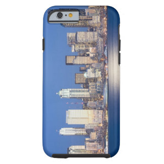 WA, Seattle, Seattle skyline and Elliott Bay, 2 Tough iPhone 6 Case