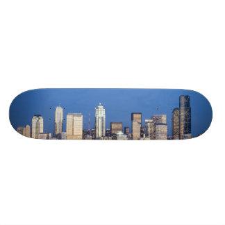 WA, Seattle, Seattle skyline and Elliott Bay 3 20 Cm Skateboard Deck
