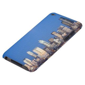 WA, Seattle, Seattle skyline and Elliott Bay 3 iPod Case-Mate Case