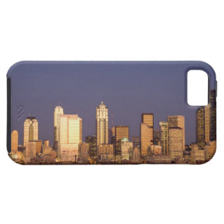 WA, Seattle, Seattle skyline and Elliott Bay, iPhone 5 Case