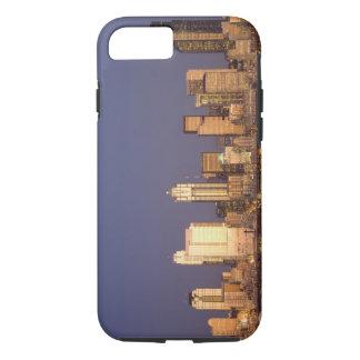 WA, Seattle, Seattle skyline and Elliott Bay, iPhone 7 Case