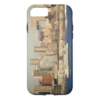 WA, Seattle, Seattle skyline and Elliott Bay iPhone 8/7 Case