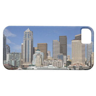 WA, Seattle, Seattle skyline with ferry boat iPhone 5 Cases