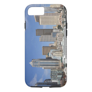WA, Seattle, Seattle skyline with ferry boat iPhone 7 Case