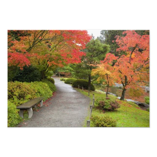 WA, Seattle, Washington Park Arboretum, 2 Photographic Print
