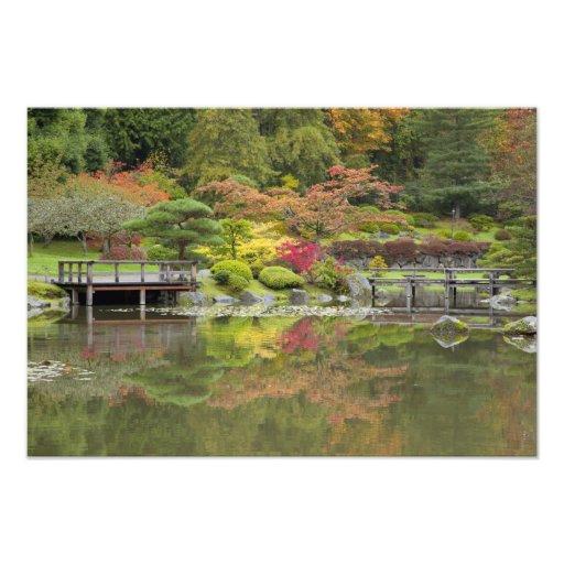 WA, Seattle, Washington Park Arboretum, 3 Art Photo