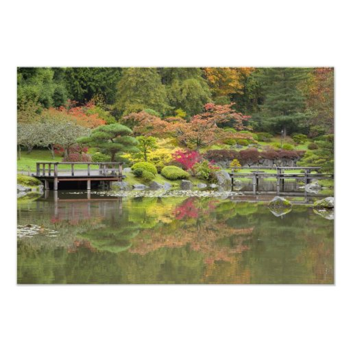 WA, Seattle, Washington Park Arboretum, 3 Photographic Print