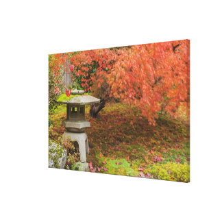 WA, Seattle, Washington Park Arboretum, Japanese 2 Canvas Print