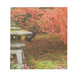 WA, Seattle, Washington Park Arboretum, Japanese 2 Notepad