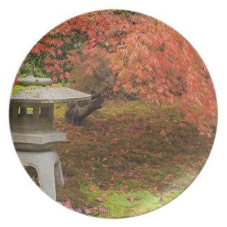 WA, Seattle, Washington Park Arboretum, Japanese 2 Plate