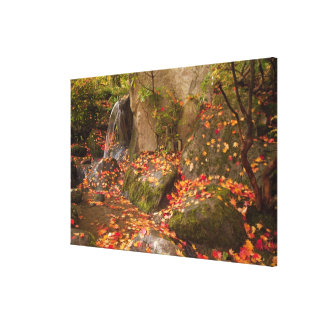 WA, Seattle, Washington Park Arboretum, Japanese Canvas Print