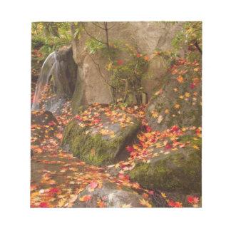 WA, Seattle, Washington Park Arboretum, Japanese Notepad