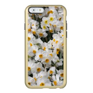 WA, Skagit Valley, Daffodil pattern Incipio Feather® Shine iPhone 6 Case