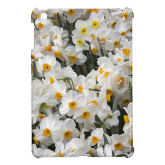 WA, Skagit Valley, Daffodil pattern iPad Mini Cases