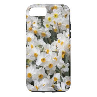 WA, Skagit Valley, Daffodil pattern iPhone 8/7 Case