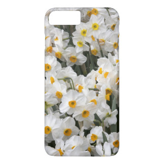 WA, Skagit Valley, Daffodil pattern iPhone 8 Plus/7 Plus Case