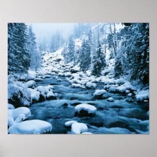 WA, Wenatchee National Forest, Cascade Poster