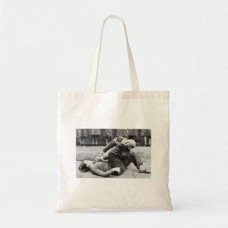WAAF Demonstrate Self-Defense 2 Budget Tote Bag