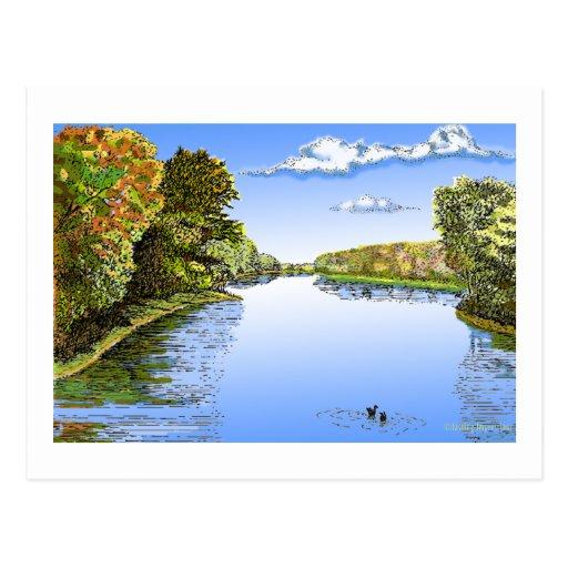 Wabash River Postcards