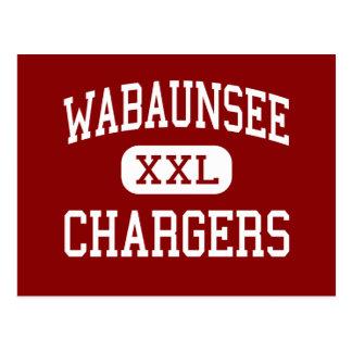 Wabaunsee - Chargers - Senior - Alma Kansas Postcard
