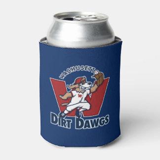 Wachusett Dirt Dawgs Collegiate Baseball Team Logo Can Cooler