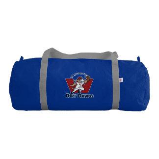 Wachusett Dirt Dawgs Collegiate Baseball Team Logo Gym Bag