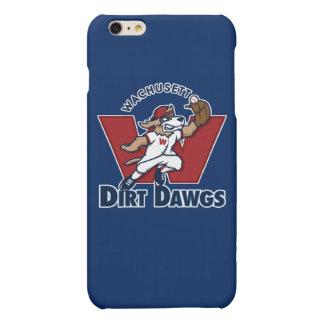 Wachusett Dirt Dawgs Collegiate Baseball Team Logo iPhone 6 Plus Case