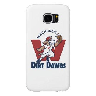 Wachusett Dirt Dawgs Collegiate Baseball Team Logo Samsung Galaxy S6 Cases