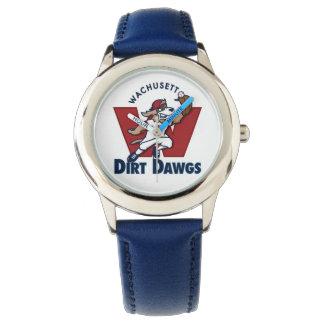 Wachusett Dirt Dawgs Collegiate Baseball Team Logo Watch
