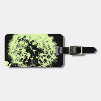 wacky art -dandelion lemon(C) Luggage Tag