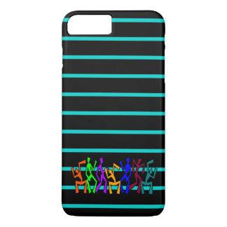 Wacky Dancers on Stripes iPhone 7 Plus Case