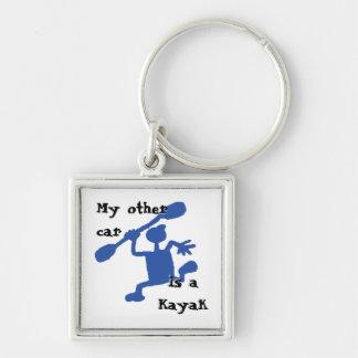 Wacky Kayak Keychain