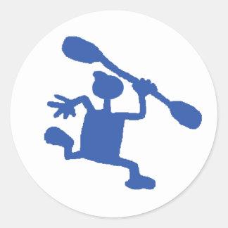 Wacky Kayaker Stickers