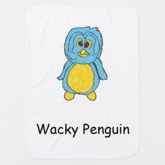 Wacky Penguin Baby Blanket