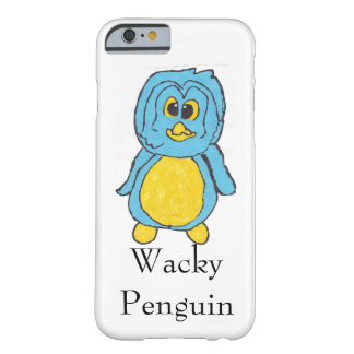 Wacky Penguin Iphone Case