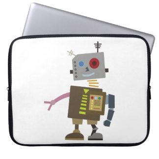Wacky Robot Laptop Sleeve