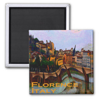 Wacky Travel Gifts - Florence Italy Square Magnet