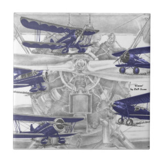 Waco Biplane Tile