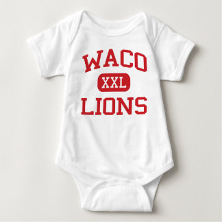 Waco - Lions - Waco High School - Waco Texas Baby Bodysuit