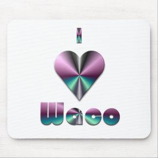 Waco -- Purple & Turquoise Mousepad