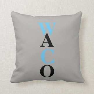 WACO THROW PILLOW