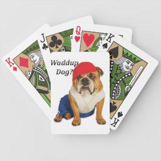 Waddup Dog Cards Bicycle Card Decks