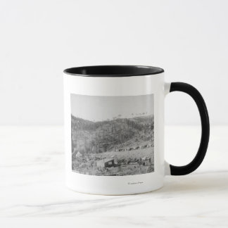 Wade and Jones Railroad Camp in Whitewood Canyon Mug