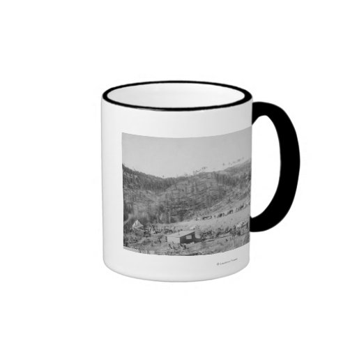 Wade and Jones Railroad Camp in Whitewood Canyon Mug