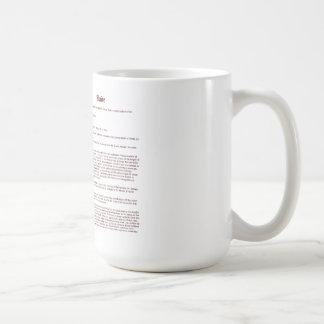 Wade (English(Meaning)) Basic White Mug