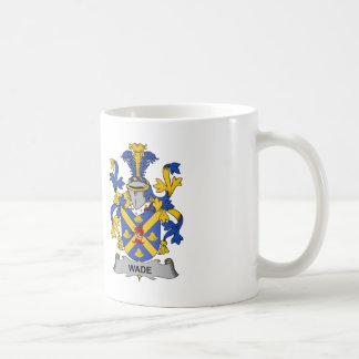 Wade Family Crest Basic White Mug