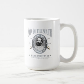 Wade Hampton III (SOTS2) silver Basic White Mug