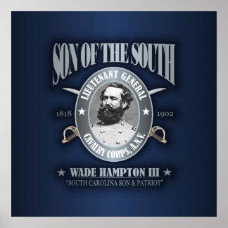 Wade Hampton III (SOTS2) silver Poster